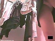Sexig Utomhus Nudism underbyxor fångas av Spycam