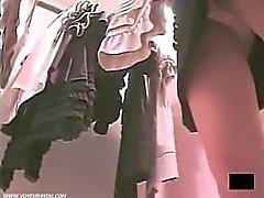 Sexy Upskirt Panties Caught By Spycam