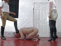 Sex slave just does as he is told