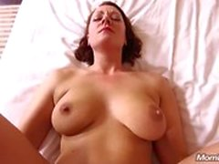 All Natural MILF gode di POV Anale Cazzo
