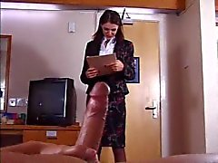 British Slut gets fucked in a hotel room