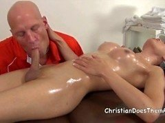 Christian Shemale Massage - Scene 5