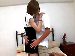 Anal pleasure for a slender crossdresser