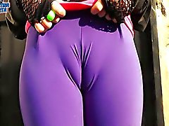 My God!! Most Perfect Puffy Cameltoe and Huge