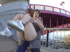 Subtitled classic Japanese public nudity adventures