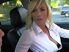 bikini model and cougar flirting