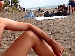 Branlette ours plage