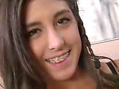 Horny gf striptease