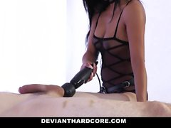 DeviantHardcore - Petite Asian Dom Gets Laid