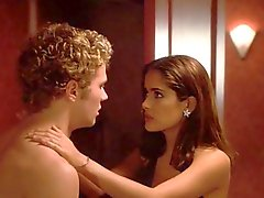 Salma Hayek fucked in the bathroom