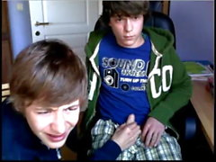 2 Cute Boys Enjoy Each Other on Webcam