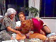 Kinky Grannies Get Their Bushy Holes Licked And Fucked In Free