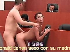 ronald and shoko fucking lawyer in court movie asia complete