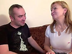 German Mom and Dad fuck her first time anal after look porn