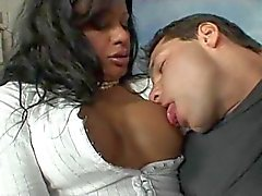 two shemale in pantyhose fuck a guy