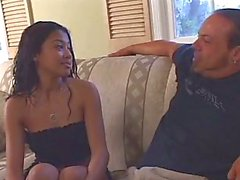Latina dolly with pierced pussy rides