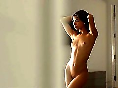Wet orgasm of exotic babe fingering