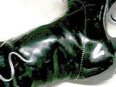 Daugthers old patent leather boots