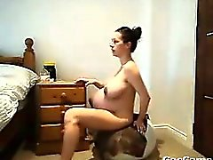 Naked Pregnant Woman