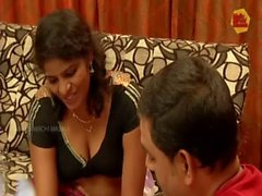 South Indian Housewife Romance with Friend Husband for Money