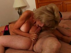 Lucky stud fucks an incredibly horny MILF