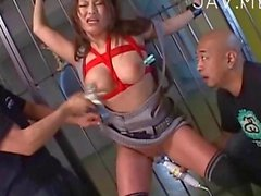 she is pegged and she loves the bdsm stuff