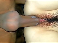 Amateur couple perfect creampie !