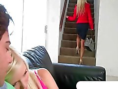 Elaina Raye caught bf boning her stepmom