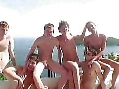 Gay broederschap Hazing Porn