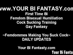 Bisexual and Gay Fantasy and Femdom Training