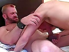 Blonde twinks goes anal deep bareback balls deep