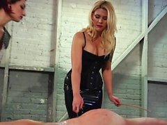 Kinky girls punish a naughty neighbor