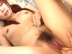 Asian Girl With Small Tits Squirting While Fingered Sucking Cock Licked In 69 In The Sitting Room