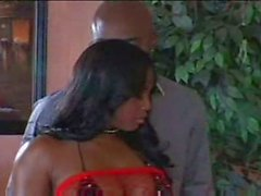 Jada Fire a Tetas Big del chocolate