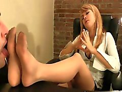 Blonden Süsse Worshipped in Nylons