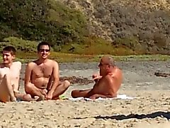 3 gays at the beach