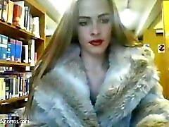 RoseWright Library flash la webcam