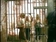 Busty lesbos prison madness