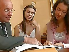 Sex lesson with horny teacher