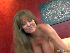 Buxom cougar Darla Crane gets fucked good and hard