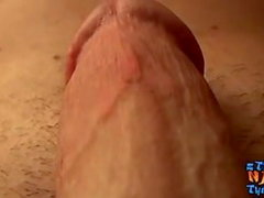 Straight twink Billy da Kidd jerking off and cumshot