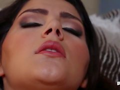 Valentina Nappi Gets Cummed On Her Puffy Pussy