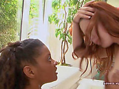 Naughty Black Moms On Redheaded Babysitters BTS