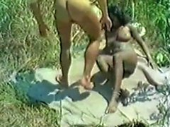 Interracial Outdoor Fucking Fantasies with Ebony Hoes