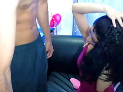 Hot Couple make some intennse blowfuck