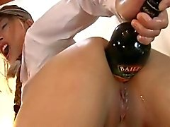 Asian Fisting and Bottle