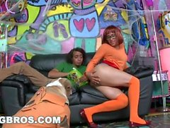 BANGBROS - Halloween with Jada Stevens in a Big Ass Haunted Mansion