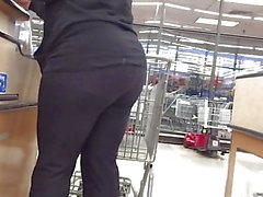 Ébano Big Black Spandex MILF Booty check-out