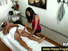 Massage from a naughty Asian girl