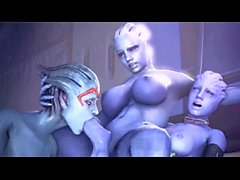 Mass Effect bizarre 3D HD Compilation